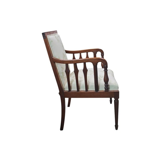English Traditional 1920s English Mahogany Armchairs - A Pair For Sale - Image 3 of 10