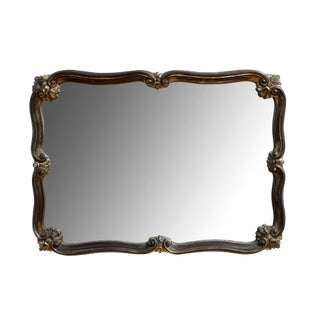 20th Century American Classical Carved Wooden Mirror