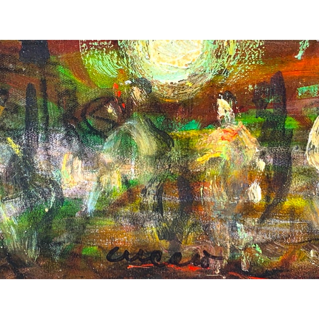 Pascal Cucaro, American (1915-2004), Figural Abstract, C. 1960 For Sale In West Palm - Image 6 of 7