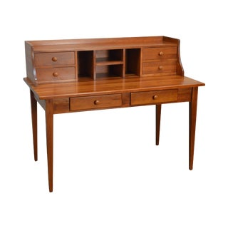 Custom Crafted Solid Cherry Writing Desk