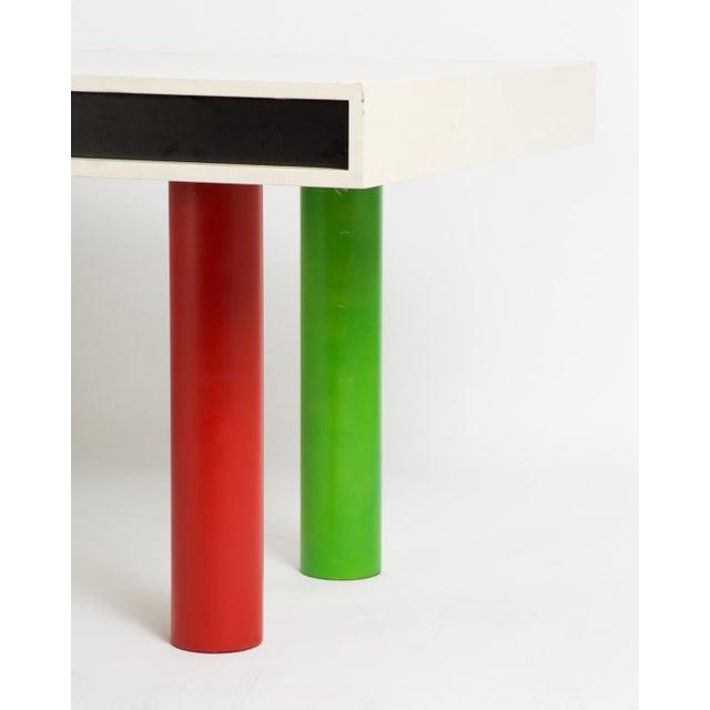 Metal 1950s Pop Art/Modern Desk For Sale - Image 7 of 12