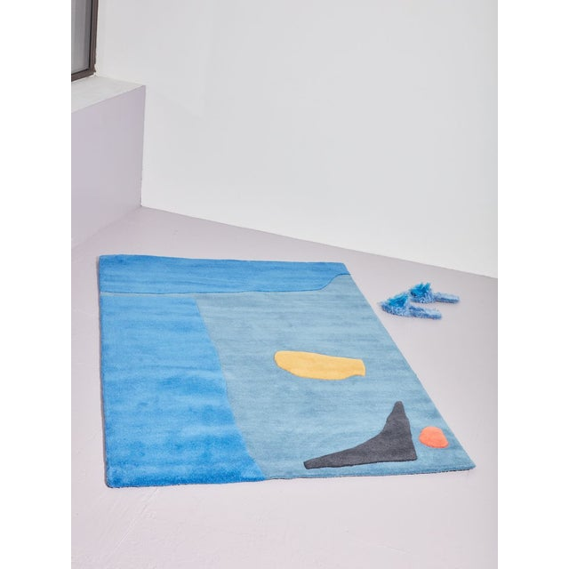 100% wool yarn hand tufted high/low pile rug. Cold Picnic was formed in 2010 by partners Phoebe Sung and Peter Buer, both...