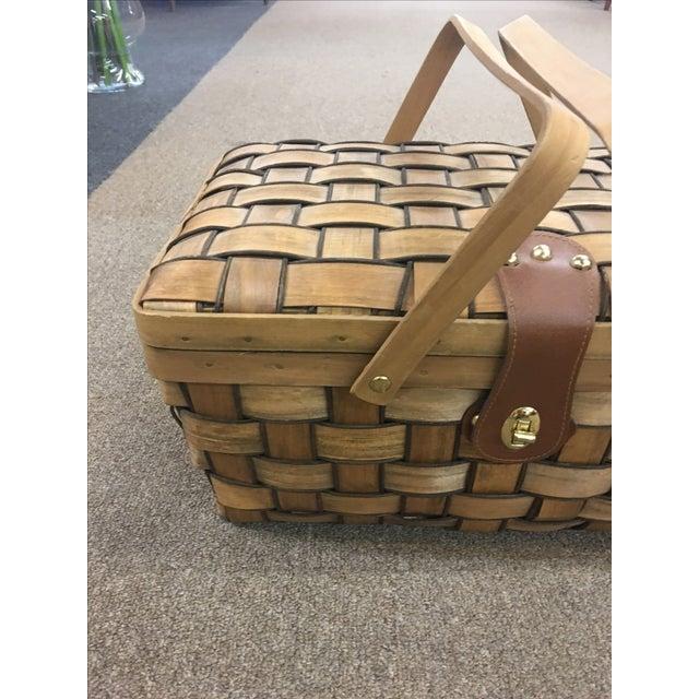 Vintage Picnic Basket - Image 3 of 11