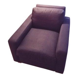 Indigo Maxwell Restoration Hardware Chair For Sale