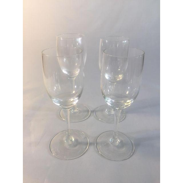 Flute Glasses - Set of 4 - Image 2 of 6