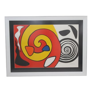 Calder Signed Lithograph Artist Proof For Sale