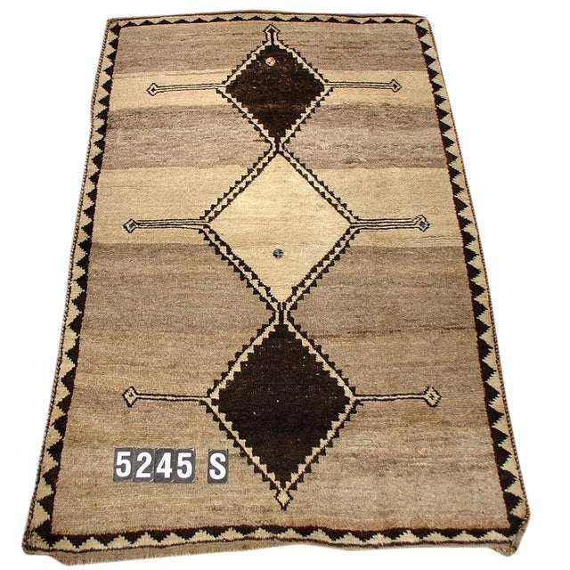 Vintage Tribal Gabbeh Rug For Sale