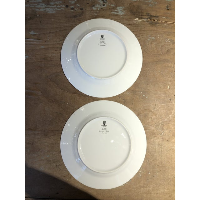 Set of Six Galuchat Plates by Manuel Canovas for Puiforcat For Sale - Image 12 of 13