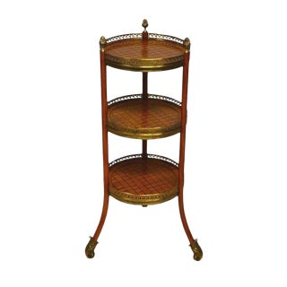 Maitland Smith Three Tier Occasional Table