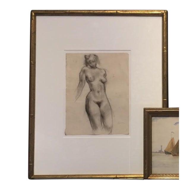 1930s Female Nude Figure Study Bay Area Artist For Sale