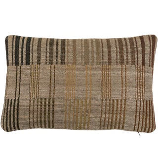 Indian Handwoven Pillow For Sale