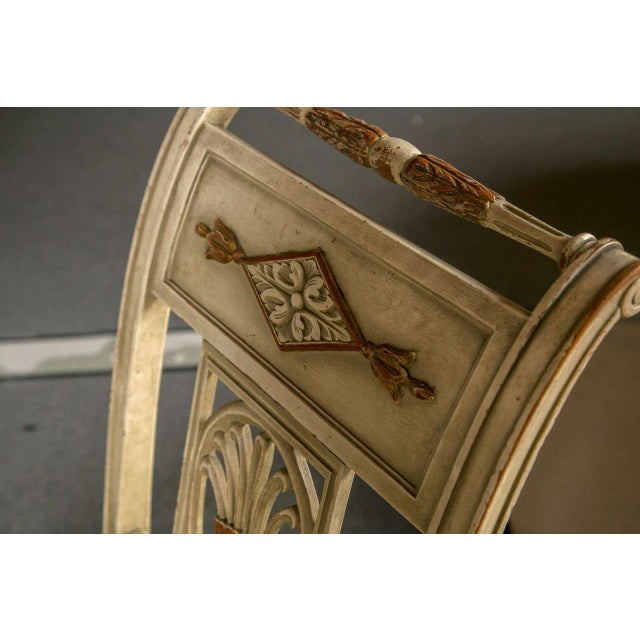 Hollywood Regency Side Chairs by Jansen - Set of 6 For Sale In New York - Image 6 of 9
