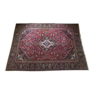 Traditional Hand Knotted Wool Rug - 4′7″ × 8′6″ For Sale