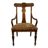 Image of Ethan Allen British Classics Collection Dining Arm Chair For Sale