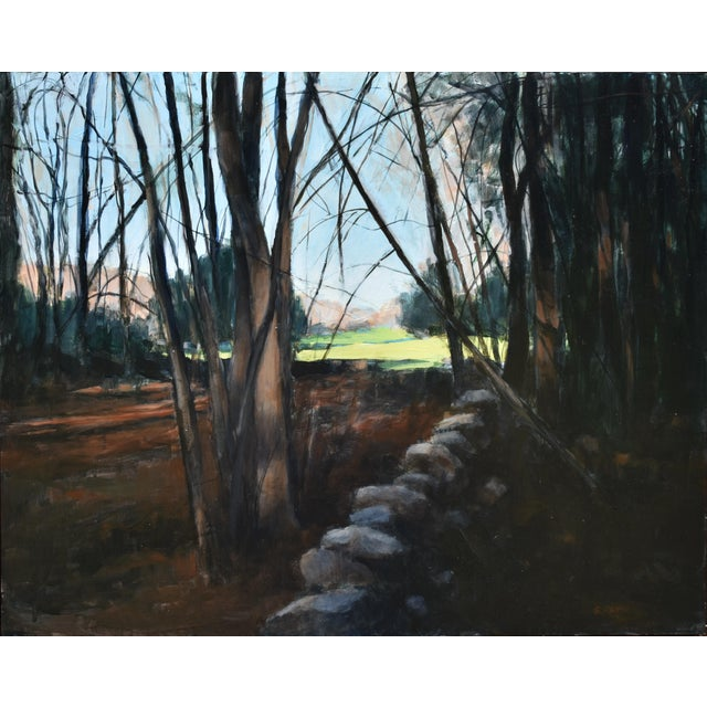 """Contemporary Stephen Remick """"Spring Fields"""" Contemporary Painting For Sale - Image 3 of 11"""