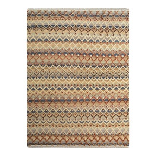 "Moroccan High and Low Arya Newton Gray & Ivory Wool Rug - 8'3"" X 10'6"""