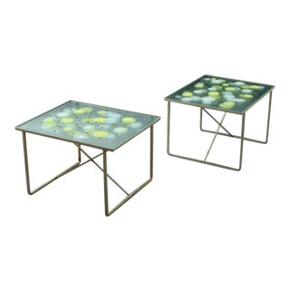 Michael & Frances Higgins Occasional Tables - a Pair For Sale