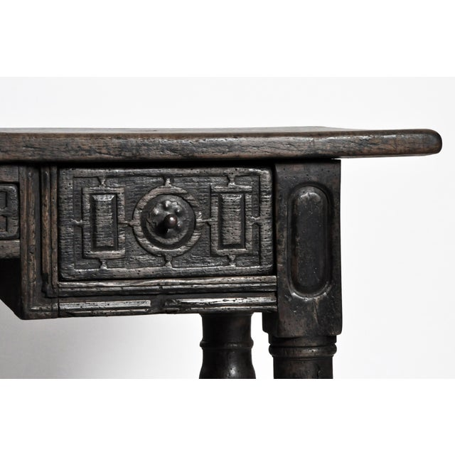 Desk With Three Drawers From Pyrenees Region For Sale - Image 9 of 13