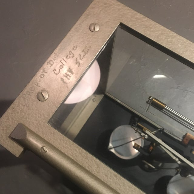 Antique Ainsworth Analytical Balance Scale - Circa 1930's For Sale - Image 12 of 13