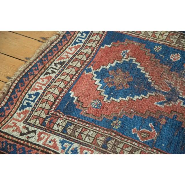 "Textile Vintage Caucasian Rug - 3'6"" x 6'6"" For Sale - Image 7 of 10"