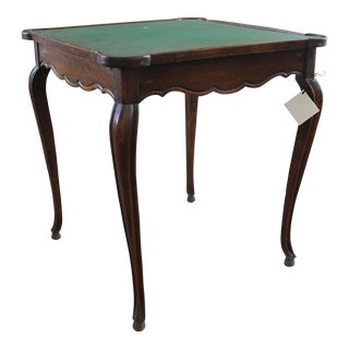Antique French Game Table For Sale