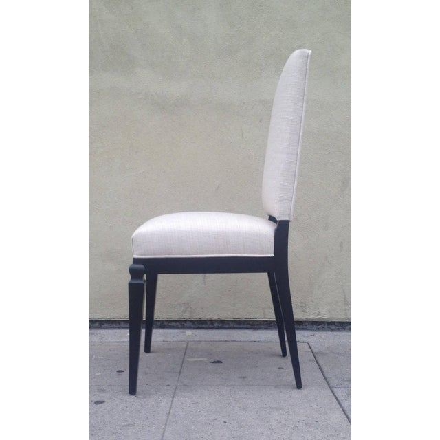 Dining Chairs Att. To André Arbus - Set of 6 For Sale - Image 5 of 9