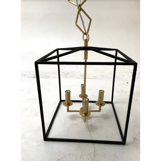 Modern Brass and Gold Pendant by Becki Owens for Hudson Valley Lighting For Sale - Image 10 of 10