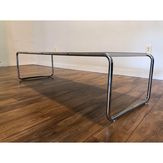 Original Vintage Laccio Coffee Table Designed By Marcel Breuer And