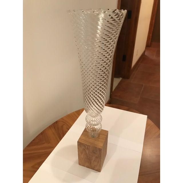 Barclay Butera Glass Vases A Pair Chairish