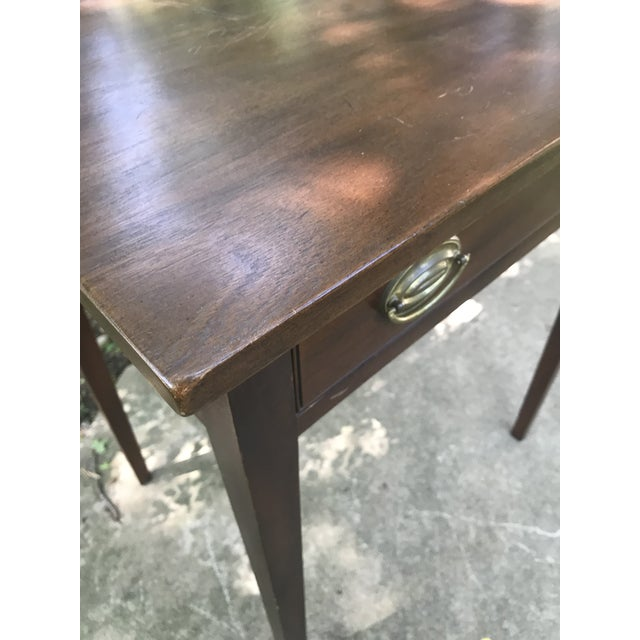 Americana Early American Kittinger Table For Sale - Image 3 of 9