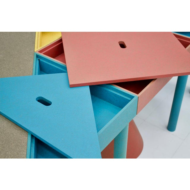 Set of Six Tangram Tables by Massimo Morozzi for Cassina, 1983 For Sale - Image 10 of 11
