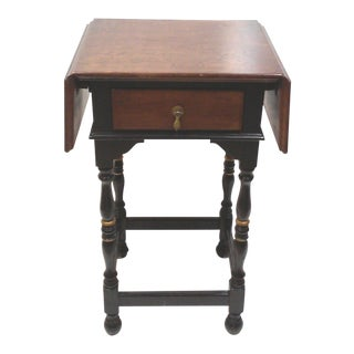 Stickley Drop Leaf Accent Table
