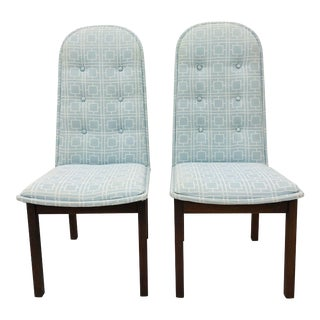 Pair Vintage Mid Century Modern Chairs For Sale