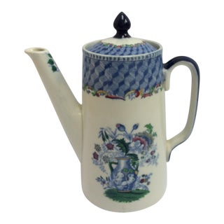Spode Masons Portland Vase Pattern Tea Pot For Sale