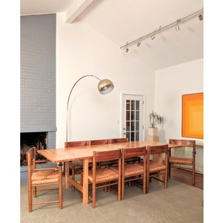 Charlotte Perriand-Style Vico Magistretti-Style Rush Chairs, Set of 8 Preview