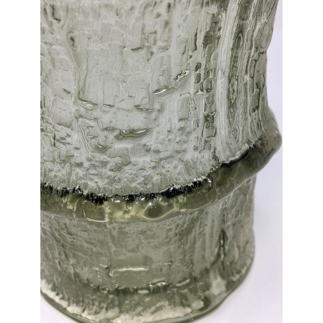 1960s Mid Century Scandinavian Timo Sarpaneva Glass Vase For Sale - Image 5 of 12