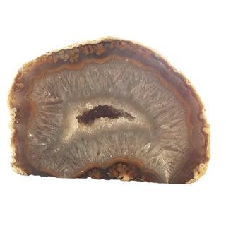 "Natural Brazilian Stone Agata Quartz 3"" H For Sale"