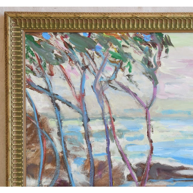 Juan Guzman, Ventura California Seascape/Landscape Painting For Sale - Image 4 of 10