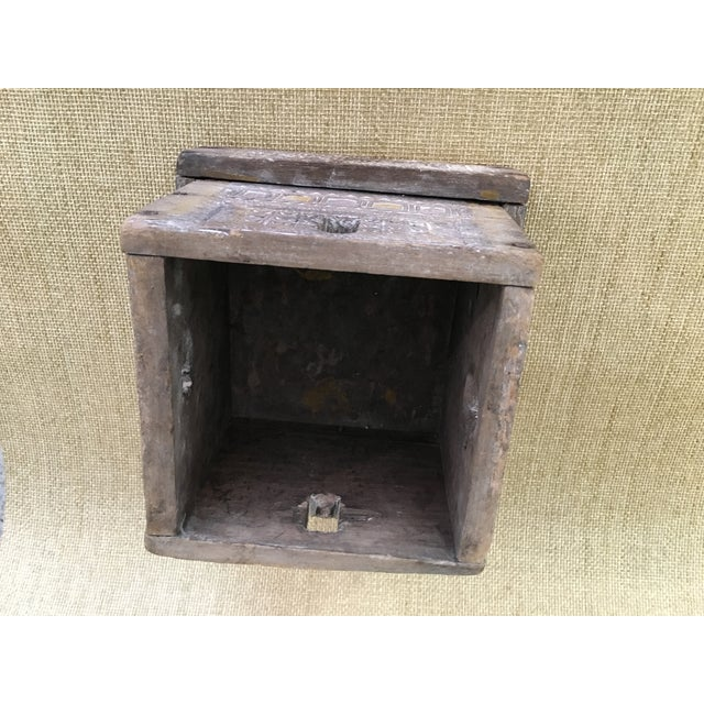 20th Century Asian Style Wood Box For Sale - Image 9 of 13