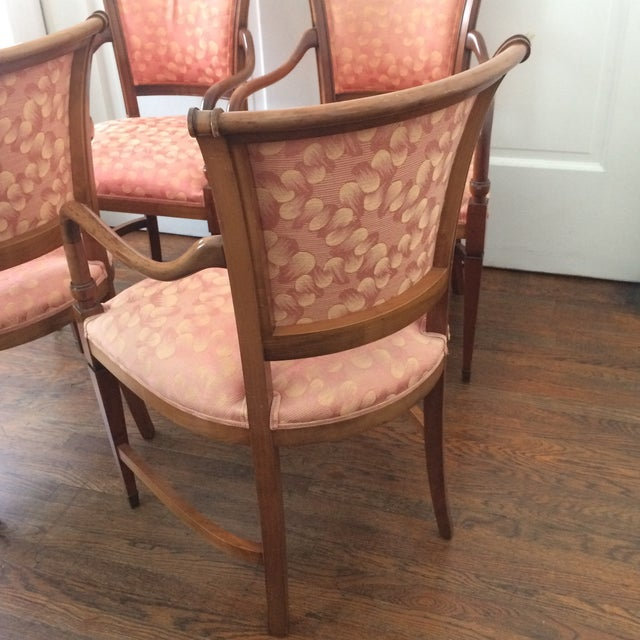 Annibale Columbo Italian Dining Chairs - Set of 4 - Image 4 of 11