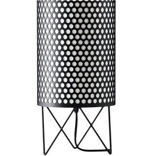 Mid-Century Modern Joaquim Ruiz Millet Black Aluminum 'Abc' Table Lamp