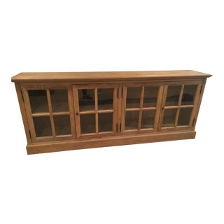 Restoration Hardware French Low Cabinet
