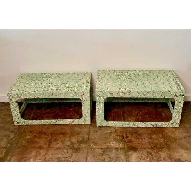 1970s Mid-Century Modern Celerie Kemble Nesting Tables - a Pair For Sale - Image 9 of 9