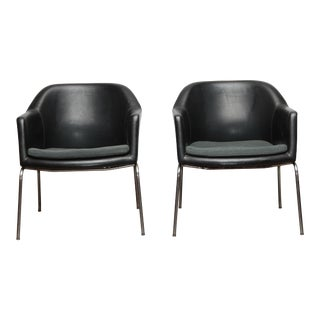 1970s Danish Lounge Chairs - a Pair For Sale