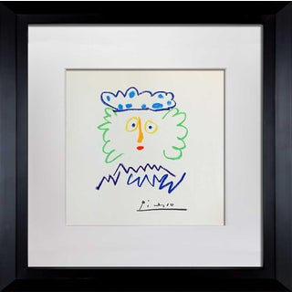 "1960s Vintage Pablo Picasso ""Cuatro Reyes 1"" Limited Edition Signed Lithograph For Sale"