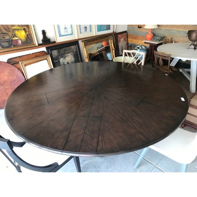 Wood Soho Jupe Dining Table For Sale - Image 7 of 12