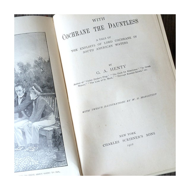 1900's Adventure Novels by G.A. Henty - Pair - Image 5 of 7