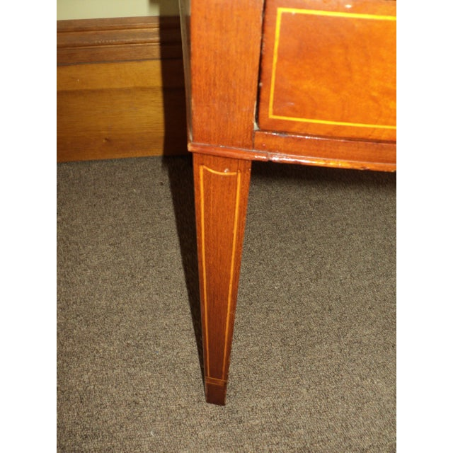 Antique Federal Style Mahogany Nightstands - A Pair - Image 7 of 8