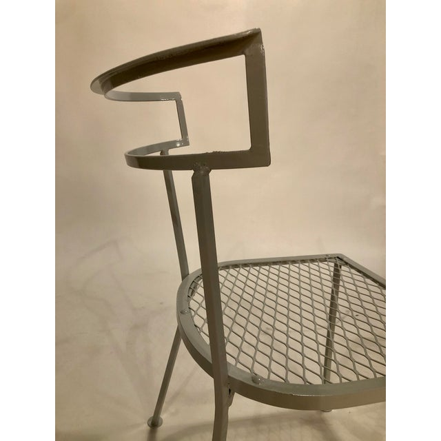 Metal Klismo Patio Dining Chairs - Set of 4 For Sale - Image 7 of 9