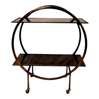 Platner & Co Maverick Bar Cart For Sale